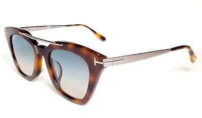 468e0f2fcdfe0 TOM FORD TF 575-F Anna-02 Sunglasses 53P Havana Green gradient new