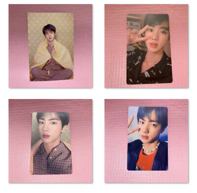 BTS Bangtan Boys JIN Official Photocard MAP OF THE SOUL:PERSONA Photo Card Only