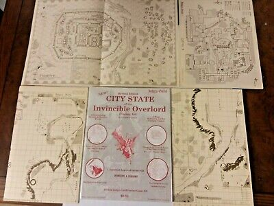 City State of the Invincible Overlord Judges Guild - Revised 1978 - Many Photos!