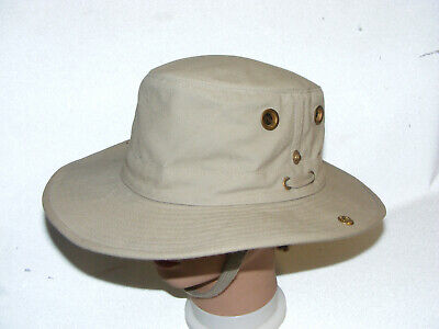 d0a99978831c6 Tilley Airflo Hat Khaki Tan 7 1 8 Endurables Outdoor Outback Sun Shade  Floats