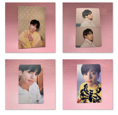 BTS Bangtan Boys JUNGKOOK Official Photocard MAP OF THE SOUL:PERSONA Photo Card