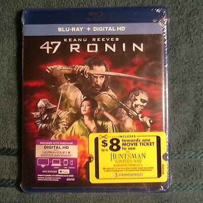 47 Ronin Blu-ray DVD Disc 2016 Includes Digital Copy UltraViolet & iTunes New