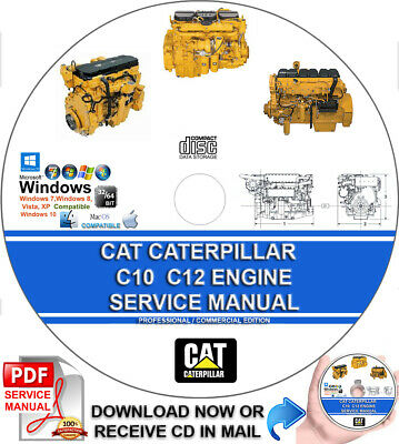 CAT CATERPILLAR C7 C7 1 C7 2 C9 C9 3 Engine Service Repair