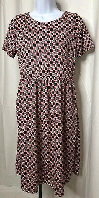 e909a29852404 Honey & Lace Piphany Windsor Geo Print Dress Small NWT Capsule POCKETS
