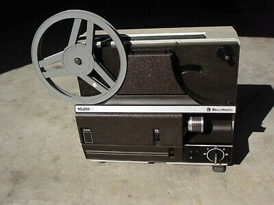MOVIE PROJECTOR 8 and SUPER 8MM BELL & HOWELL
