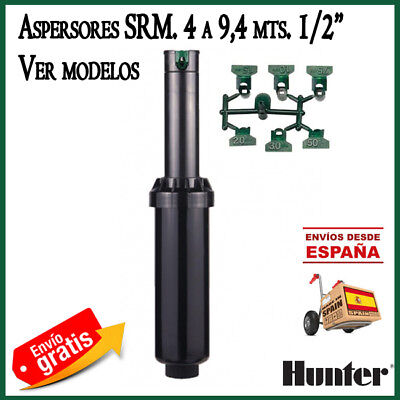 SRM Hunter aspersor de riego automatico aspersion srm04 aspersores emergentes
