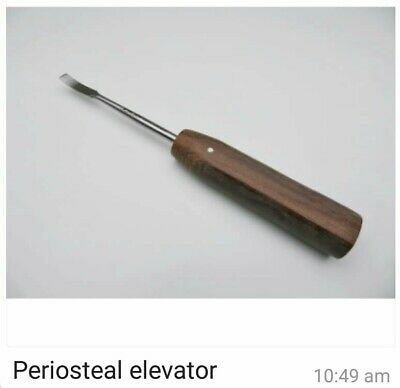 Periosteal Elevator 19cmVeterinary, Orthopedic Instruments CE.