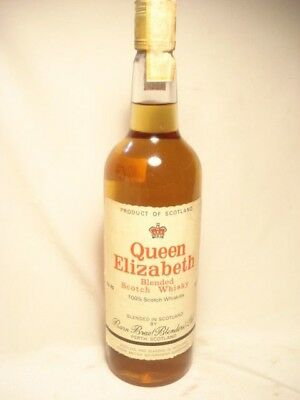 Old  Whisky QUEEN  ELIZABETH  cl.75 gr.43%  Blended  Imp. HELCA