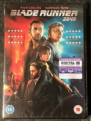 Blade Runner 2049 Dvd 2018 (Harrison Ford) Brand New & Sealed Mint Condition