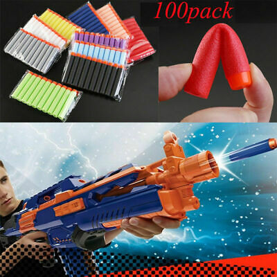 100PCS Refill Bullets darts For Nerf N-Strike Elite Gun etc **CHEAPEST ON EBAY