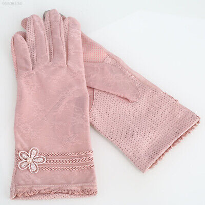 4B41 6 Colors Touch Screen Glove Pearl Mittens Fashion Texting Glove