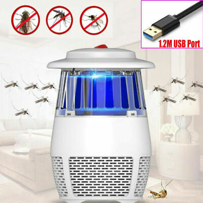 LED UV Light Electric Insect Killer Mosquito Fly Bug Zapper Trap Lamp Home Tidy
