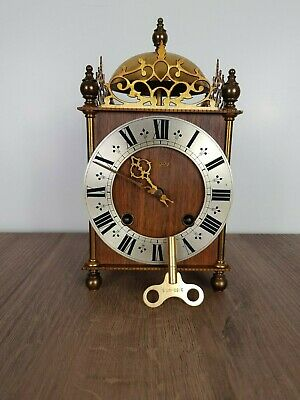Vintage Urgos Lantern (Table) Clock from 1973 in excellent condition