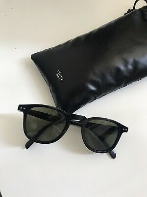 a043d18f5b CELINE CL 41065 S Thin Squared Black White Horn Sunglasses -  134.00 ...