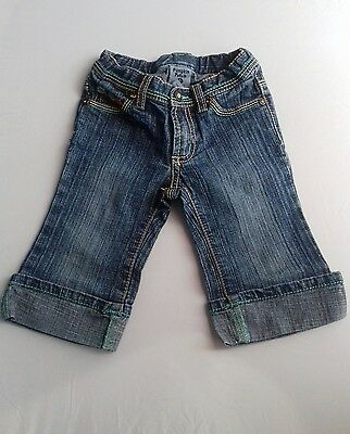 Pumpkin Patch age 2 girls turnup jeans/3/4. FAST POSTAGE