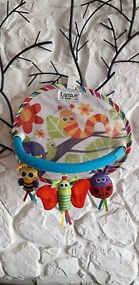 Lamaze car sun shade with hanging mobile. FAST POSTAGE