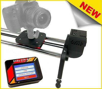 SLIDER MOTORIZZATO PER TIMELAPSE LIVE MOTION TOUCH DISPLAY DOLLY 100cm