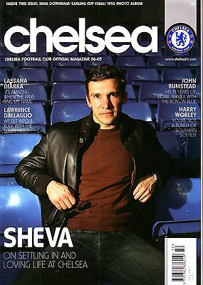 Chelsea Official Mag April 2007 - Must For Blues Fans! Vgc