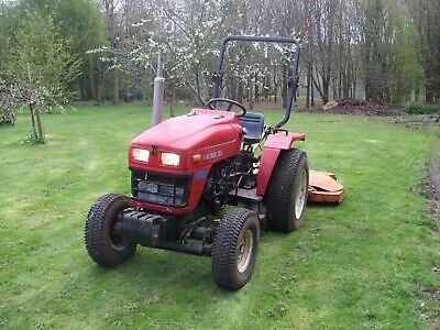 Siromer 304 Compact Tractor with Perfect Mower