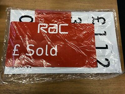 Car Price//Pricing Sun Visor 1 Red For Sale Sign Board Vehicle//Auto Price Kit