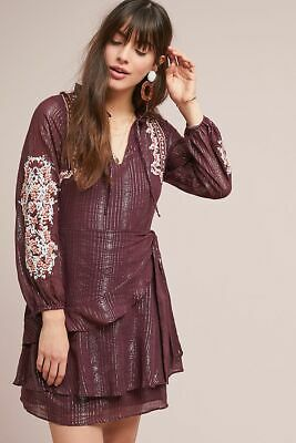 b18bee5ebaa3b NEW ANTHROPOLOGIE AMBER Embroidered Dress by Dolan Left Coast. Large ...