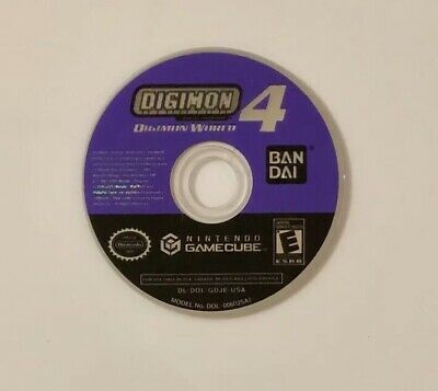 Digimon World 4 (Nintendo GameCube, 2005) Video Game *Disc Only* Working