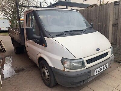 Ford transit tipper Mk 6 Lots of MOT ready for work