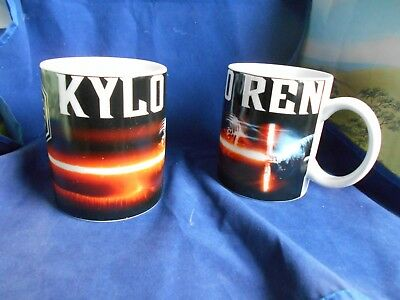 """Star Wars Ceramic Mug - """"Kylo Ren"""" Made By """"Zak"""" - New And Unboxed"""