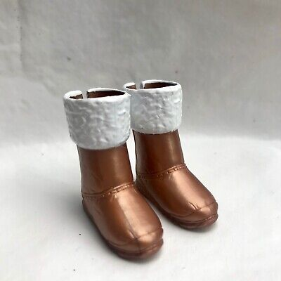 Liv Fashion Doll Spinmaster Spin Master Brown Gold Ugg Boots Shoes
