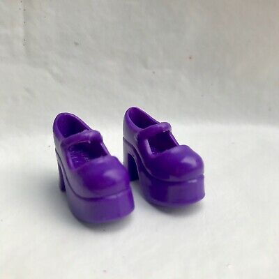 Liv Fashion Doll Spinmaster Spin Master Purple Chunky Heel Mary Jane  Shoes