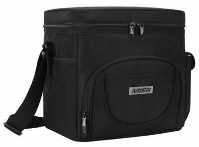 1be1bd526ad7b MIER LARGE INSULATED Lunch Bag Picnic Soft cooler Bag for Men, Women ...