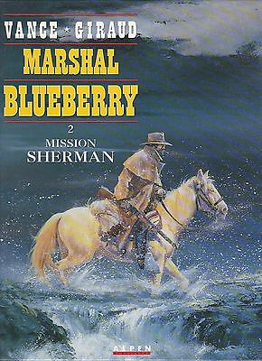 BD Blueberry (Marshal)Mission Sherman - N°2- EO-1993 -TBE- vance