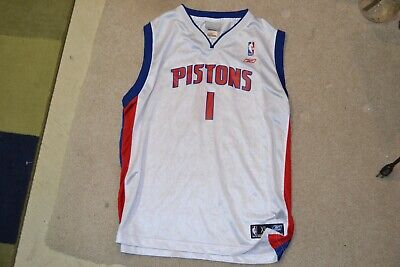 cheap for discount 15554 6857c XL YOUTH REEBOK Chauncey Billups Detroit Pistons NBA ...