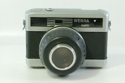 View finder Carl Zeiss Werra Matic with Carl Zeiss Tessar 50mm F2.8 Ref. 311912