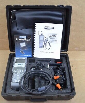Midtronics Ctu 6000 Celltron Ultra Analyseur de Batterie Kit avec / Sondes Et