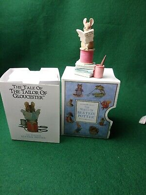 Border Fine Arts ~ Beatrix Potter ~ Tailor Of Gloucester ~ 1996 199532 Boxed