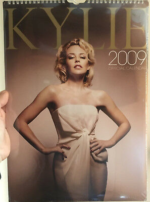 Kylie Minogue Official 2009 Calendar Rare To Find
