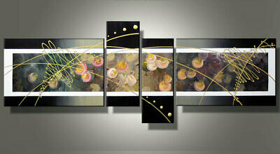 Large Modern Abstract Oil Painting art Canvas Contemporary Wall Art Framed aps17