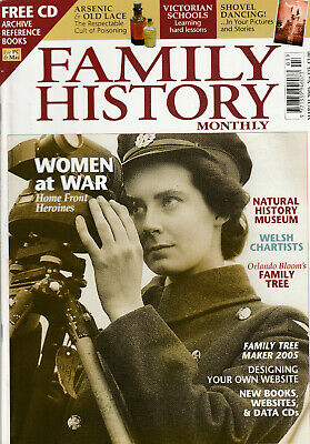 FAMILY HISTORY MONTHLY Magazine March 2005 - Women At War