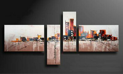 Large Modern Abstract Oil Painting art Canvas Contemporary Wall Art Framed aps18