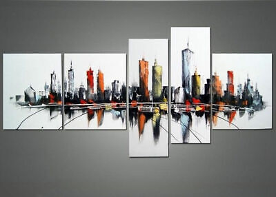 Large Modern Abstract Oil Painting art Canvas Contemporary Wall Art Framed aps35