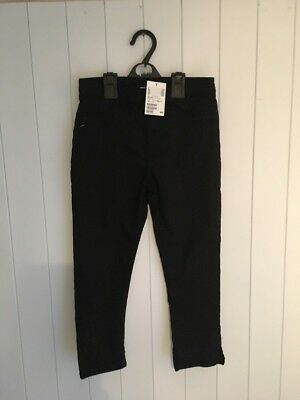 Girls Capri pants black size 10-11 years H&M BNWT