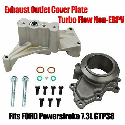 FORD Powerstroke 7.3L GTP38 Turbo Charger High Flow With EBPV Exhaust Outlet Pad