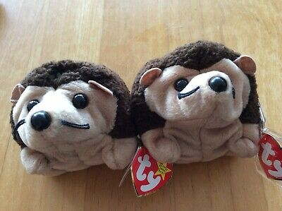 Ty Beanie Babies Prickles X Two