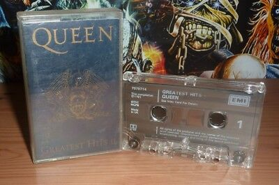 Queen Greatest Hits II original 1991 cassette
