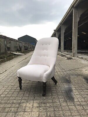 Antique Victorian Nursing Chair