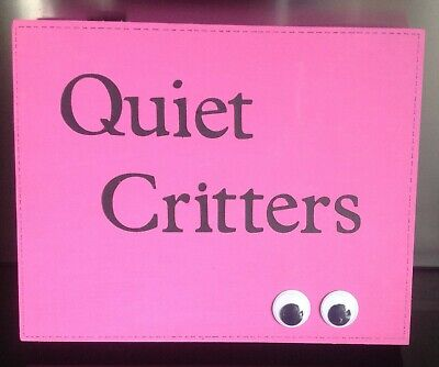 EXTRA LARGE - Quiet Critters - 1 ONLY! (BUBBLEGUM PINK)