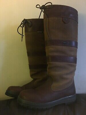 fe02419dcaf DUBARRY BOOTS SIZE 4 Gore-Tex®BROWN LEATHER EQUESTRIAN COUNTRY Knee ...