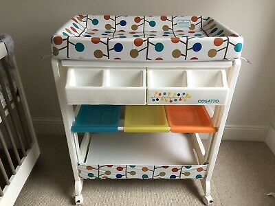 Cosatto Easi Peasi Changing Station Unit Baby Bath Changing Mat Nursery 'Fable'