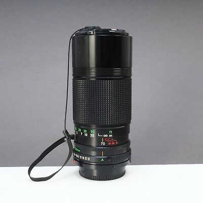 = Canon Zoom Lens FD 70-150mm f4.5 Telephoto Zoom Lens for Canon FD Mount